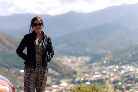Thimphu city view
